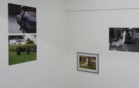 <p>Vue de l&rsquo;exposition <em>Broadcast Posters</em>, Néon, Lyon, 2010. Photo : Maxime Rizard / Néon.</p>