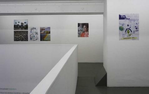 <p>Vue de l'exposition <em>Broadcast Posters</em>, Néon, Lyon, 2010. Photo : Maxime Rizard / Néon.</p>
