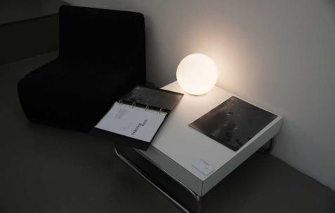 <p>Vue de l&rsquo;exposition d'Olivia Boudreau, Néon, Lyon, 2011. Photo : JAC / Néon.</p>