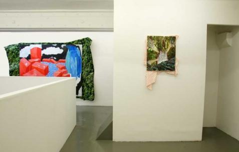 <p>Vue de l'exposition de Simon Bergala, Néon, Lyon, 2011. Photo : JAC / Néon.</p>