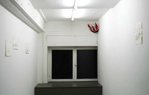 <p>Vue de l&rsquo;exposition <em>Ah, ah, ah, animal</em>, Néon, Lyon, 2012. Photo : Maxime Rizard / Néon.</p>