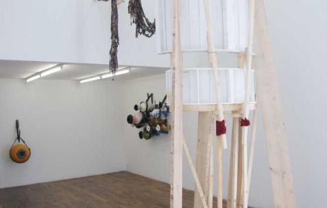 <p>Vue de l'exposition <em>Graceland</em>, Néon, Lyon, 2012. Photo : JAC / Néon.</p>