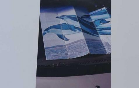 <p>Aurélien Arbet & Jérémie Egry, série <strong><em>Stranger</em></strong>, 2011-2012, impressions digitales, 40×60cm, édition de 10+2 EA. Vue de l'exposition <em>Chute Libre</em>, Néon, Lyon, 2012. Photo : Arbet & Jérémie Egry / Néon, 2012.</p>
