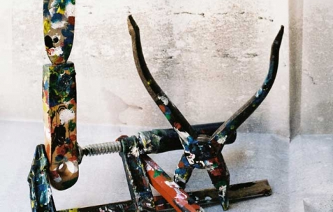 <p>Aurélien Arbet & Jérémie Egry, série Travaux choisis, 2011, impressions digitales montées sur aluminium et chassis, 50×75cm, édition de 3+2 EA. Vue de l'exposition <em>Chute Libre</em>, Néon, Lyon, 2012. Photo : Arbet & Jérémie Egry / Néon, 2012.</p>