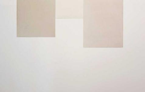 <p>Sébastien Maloberti, <strong><em>Beale street</em></strong>, 2013, résine acrylique et encre sur acier laqué, 212&#215;132 cm. Vue de l'exposition <em>Blind Lemon</em>, Néon, Lyon, 2013. Photo : Clémence Bachat /Néon.</p>