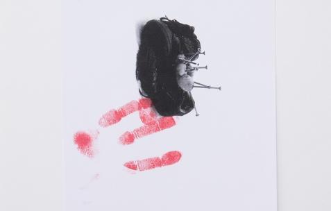 <p>Jean-Alain Corre,<em>Very Small Deal #0,<strong> Driller-Killer</strong></em>, 2009, Photocopie, A4, 60 exemplaires, numérotés et signés. Photo : Valentin Defaux / Néon, 2016.</p>