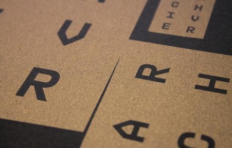 <p>A is a name (Jérémie Nuel et Simon Renaud),<strong><em>Very small deal #2</em></strong><strong>, <em>Fibonacci </em></strong><strong>(détail)</strong><strong>,</strong> 2014, photocopie, A4, 60 exemplaires, numérotés et signés. Photo : Valentin Defaux / Néon, 2016.</p>