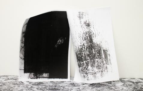 <p>Benjamin Collet<em>, Very small deal #12,<strong> Image non balayée</strong></em>, 2016, diptyque, photocopie, A4, 60 exemplaires numérotés et signés. Photo : Valentin Defaux / Néon, 2016.</p>