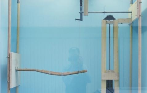 <p>Benjamin Collet & Pierre Gaignard feat. Panamarenko, <strong><em>Manuel illustré pour idéaliste isolé</em></strong>, 2013, peinture, dessin sur papier, cadre. <em>Etudes pour un multiplex décomplexé (</em>Etude #13), résidence de Benjamin Collet & Pierre Gaignard chez Néon, 2012 et 2014. Photo : Benjamin Collet & Pierre Gaignard / Néon.</p>