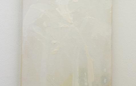<p>Frédéric Houvert, <strong><em>Orchidaceae B</em></strong>, 2017, acrylique sur toile, 24x18cm. Vue de l'exposition <em>Les Tournesols,</em> Frédéric Houvert invite Daniel Mato, Laurent Proux, Fabio Viscogliosi. Photo: Anne Simonnot / Néon, 2017.</p>