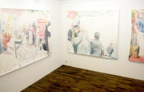 <p>Vue de l'exposition d'Anna Gaume, Néon, Lyon, 2009. Photo: Emanuelle Firman</p>