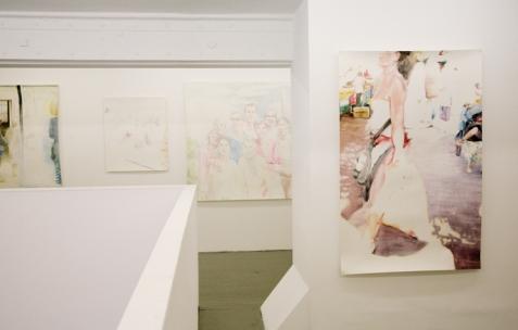 <p>de l'exposition d'Anna Gaume, Néon, Lyon, 2009. Photo: Emanuelle Firman</p>