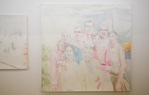 <p>Vue de l'exposition d'Anna Gaume, Néon, Lyon, 2009. Photo: Emanuelle Firman</p> <p></p>